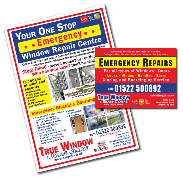 emergency glazing information