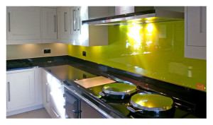 Lime Green Splashback