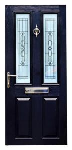 Blue-Black-Composite-Door